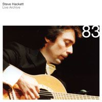 Steve Hackett Live Archive 83  album cover