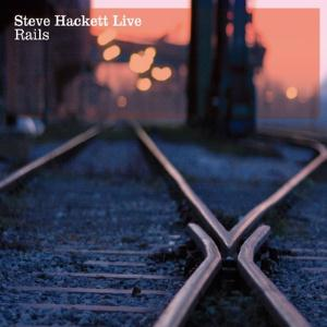 Steve Hackett Rails Live album cover