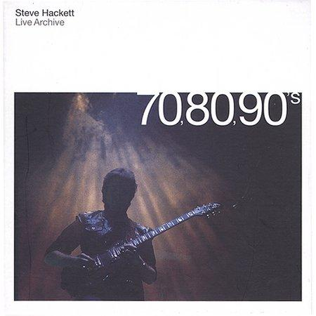 Steve Hackett - Live Archives 70,80,90s CD (album) cover