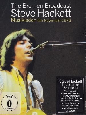 Steve Hackett The Bremen Broadcast - Musikladen 8th November 1978 album cover