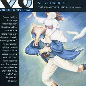Steve Hackett - The Unauthorised Biography CD (album) cover
