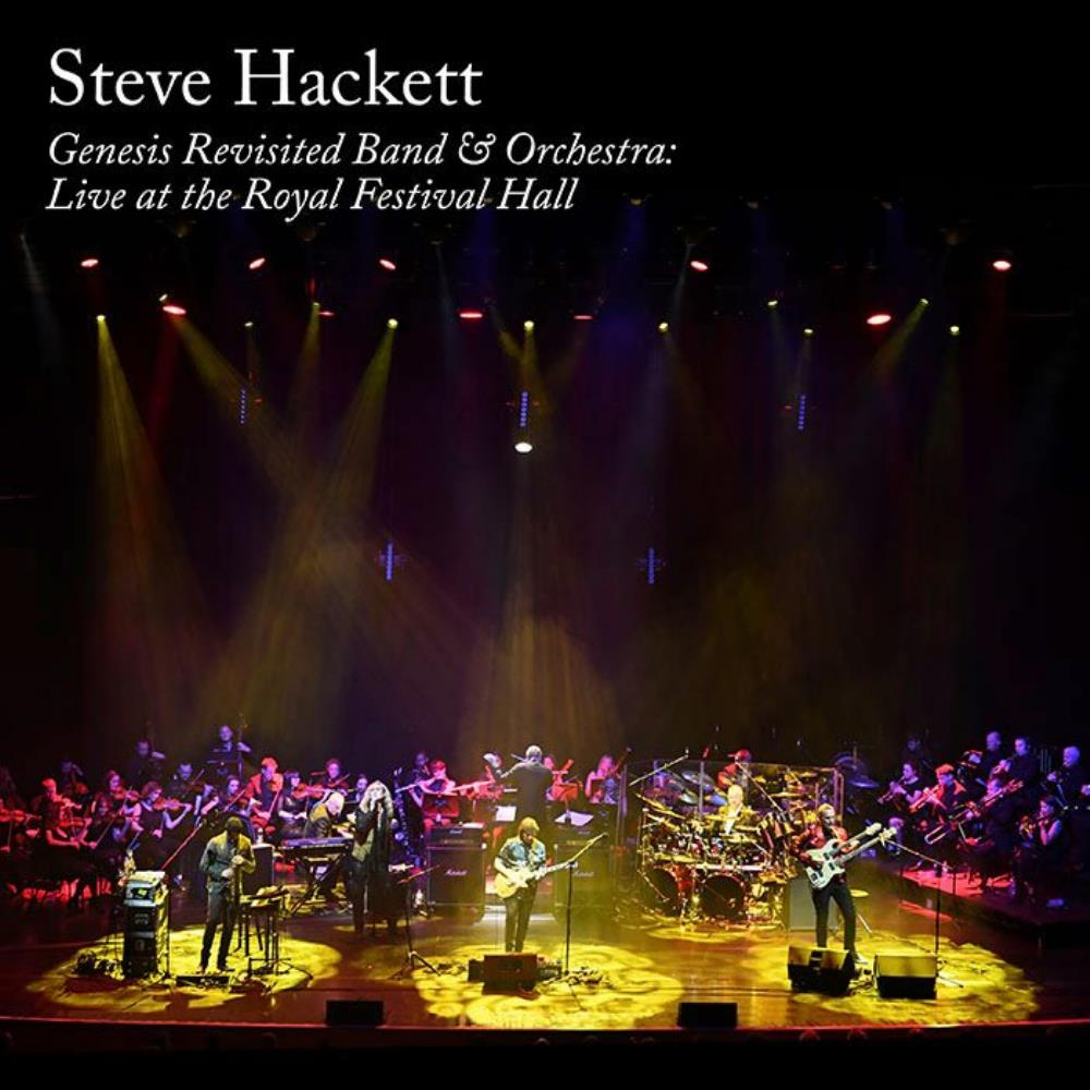 Genesis Revisited Band & Orchestra: Live at the Royal Festival Hall by HACKETT, STEVE album cover