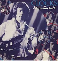 Steve Hackett Clocks album cover