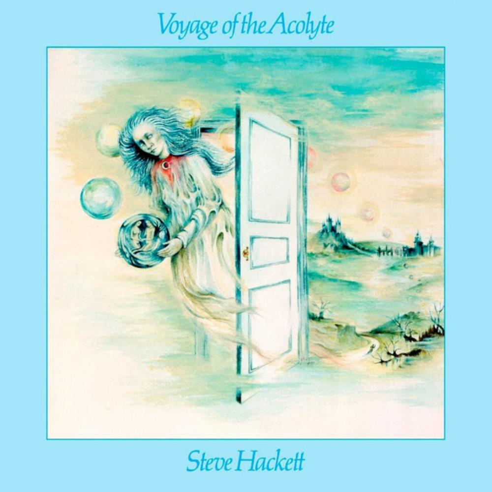 Steve Hackett - Voyage of the Acolyte CD (album) cover