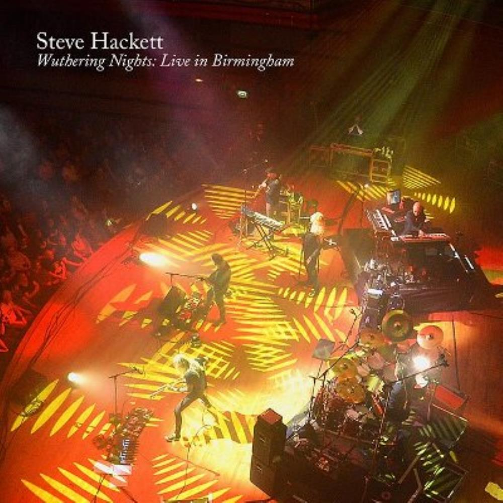 Wuthering Nights: Live in Birmingham by HACKETT, STEVE album cover