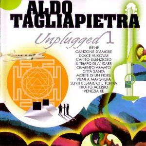 Aldo Tagliapietra Unplugged 1 album cover