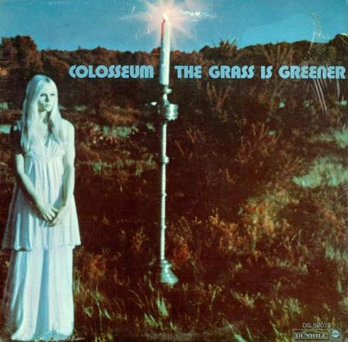 Colosseum The Grass Is Greener album cover