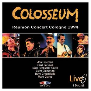 Reunion Concert Cologne 1994 by COLOSSEUM album cover