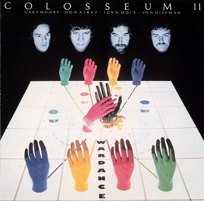 Colosseum II - War Dance CD (album) cover