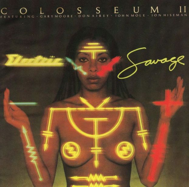 Colosseum II Electric Savage album cover