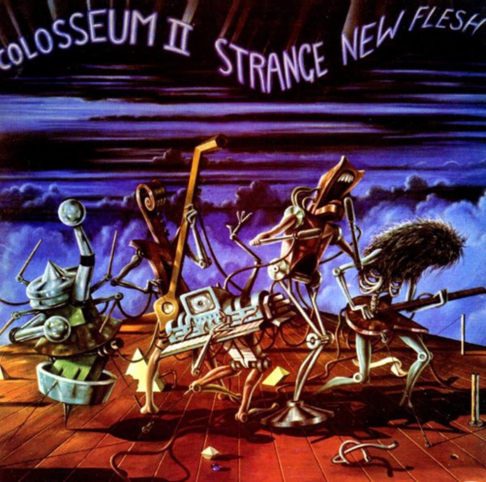 Strange New Flesh by COLOSSEUM II album cover