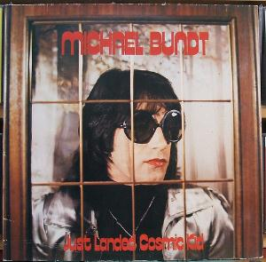 Michael Bundt Just Landed Cosmic Kid  album cover