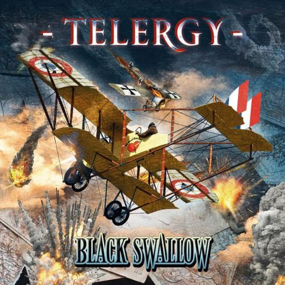 Black Swallow by TELERGY album cover