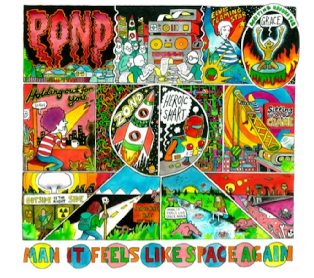 Pond Man It Feels Like Space Again album cover