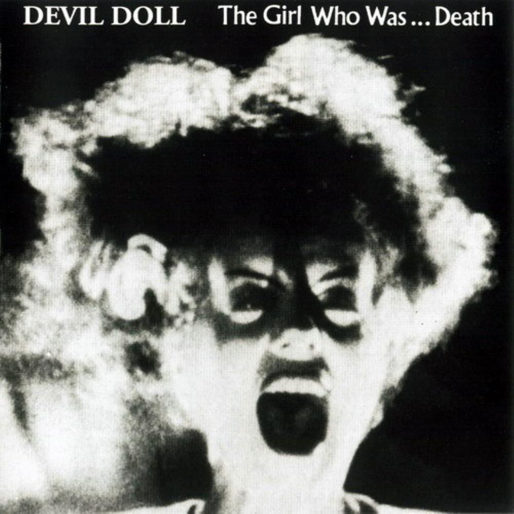 The Girl Who Was... Death by DEVIL DOLL album cover