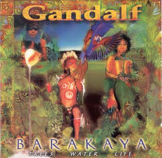 Gandalf Barakaya - Trees Water Life album cover