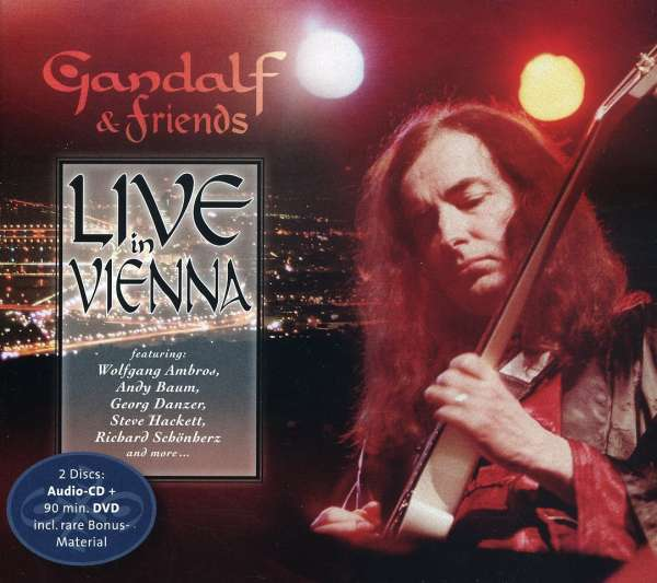 Gandalf Live in Vienna (CD + DVD) album cover