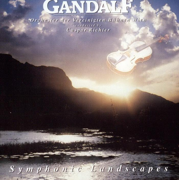 Gandalf - Symphonic Landscapes CD (album) cover