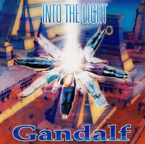Gandalf Into The Light  album cover