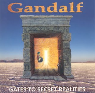 Gandalf - Gates to Secret Realities  CD (album) cover