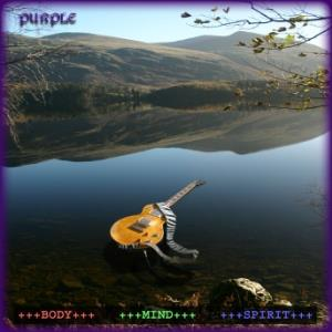 Purple - Body Mind Spirit CD (album) cover