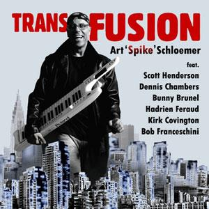 Art  Spike Schloemer Transfusion album cover