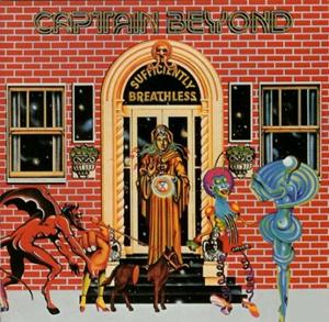 Captain Beyond - Sufficiently Breathless CD (album) cover