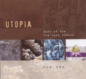 Last of the New Wave Riders by UTOPIA album cover