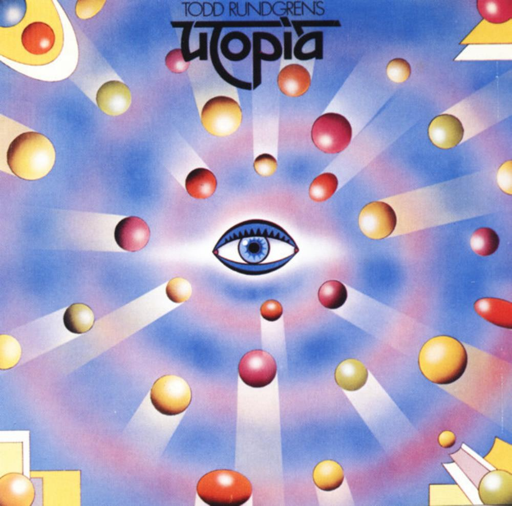 Utopia - Todd Rundgren's Utopia CD (album) cover