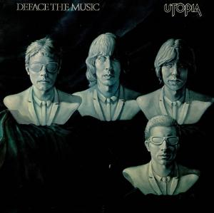 Utopia - Deface The Music CD (album) cover