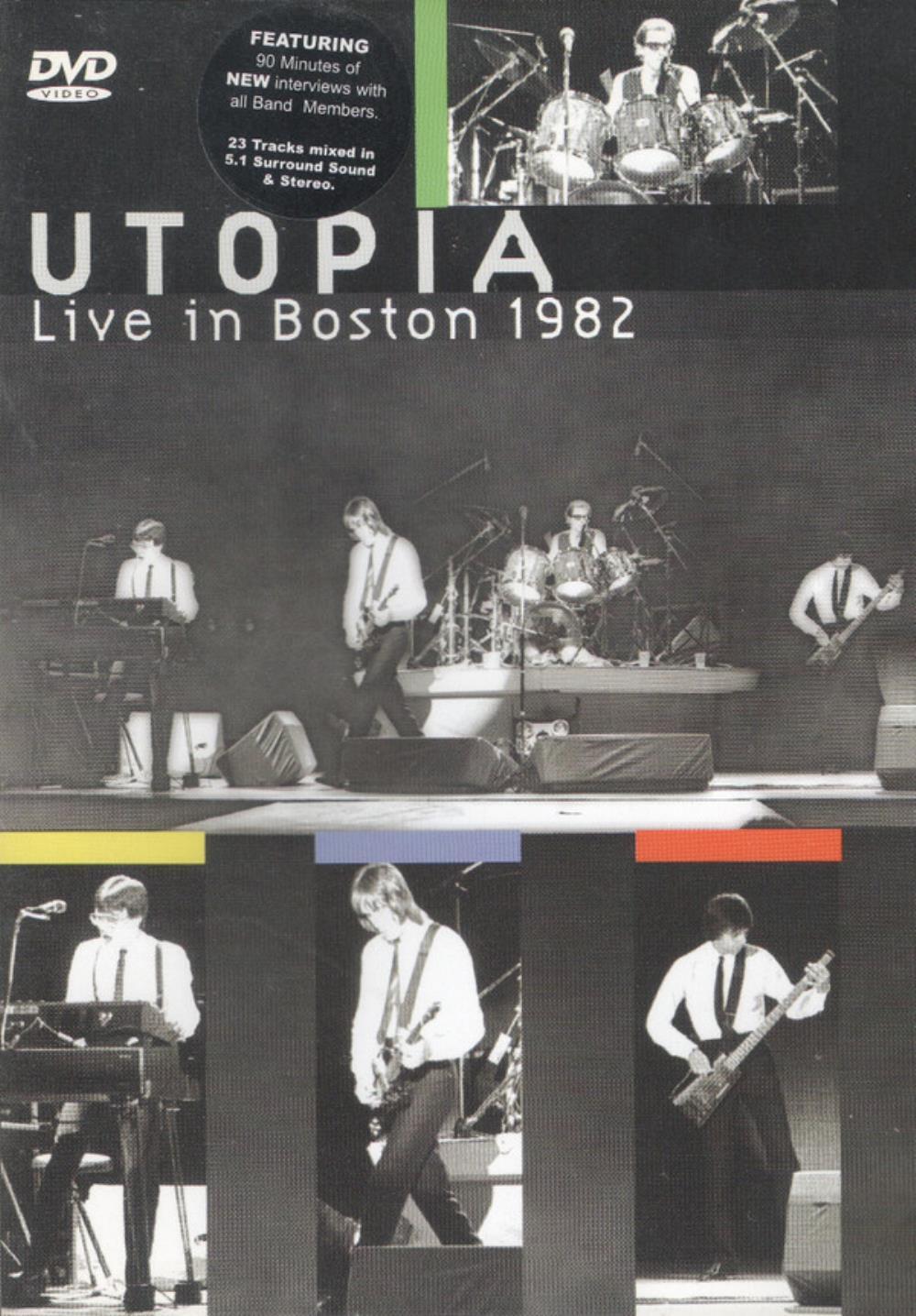 Live in Boston 1982 by UTOPIA album cover