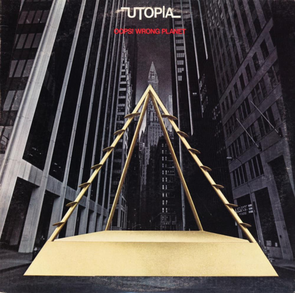 Utopia - Oops ! Wrong Planet CD (album) cover