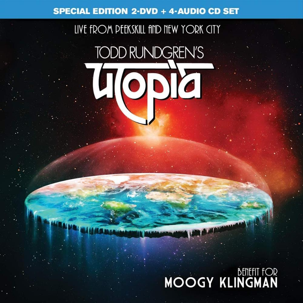 Benefit for Moogy Klingman - Live from Peekskill and New York City by UTOPIA album cover