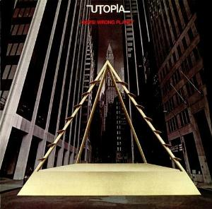 Utopia - Oops! Wrong Planet CD (album) cover