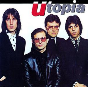 Utopia - Utopia CD (album) cover