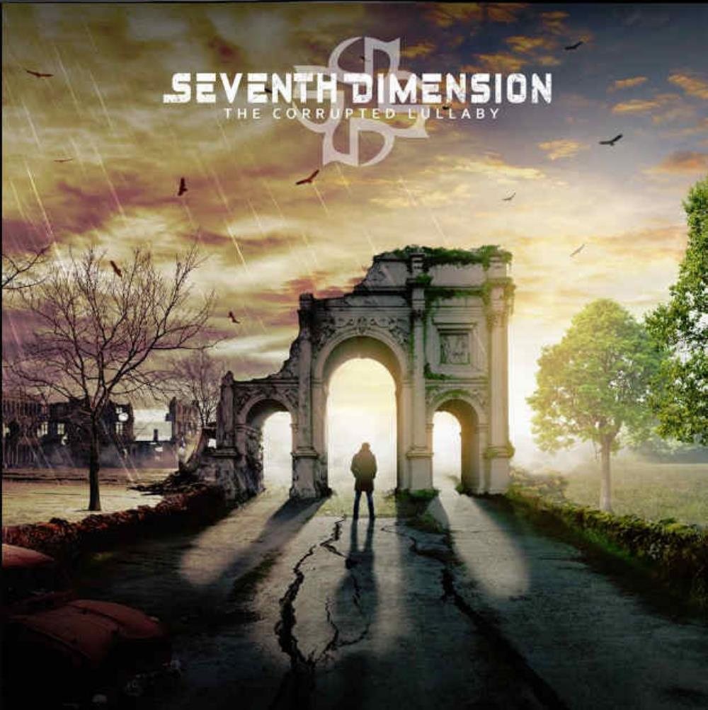 The Corrupted Lullaby by SEVENTH DIMENSION album cover