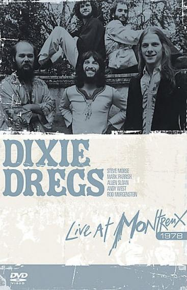 Dixie Dregs - Live At The Montreux Jazz Festival 1978 CD (album) cover
