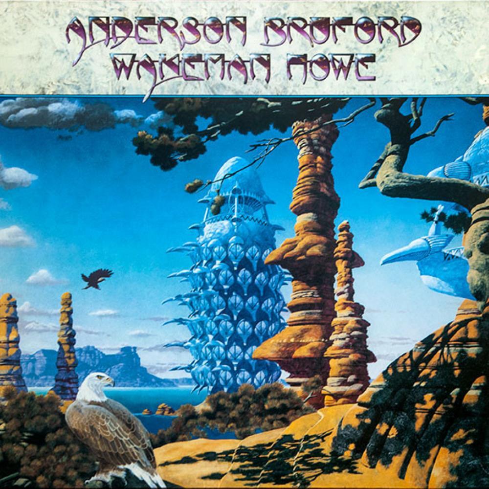 Anderson Bruford Wakeman Howe by ANDERSON BRUFORD WAKEMAN  HOWE album cover