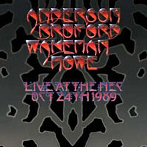 Anderson Bruford Wakeman  Howe Live At The NEC album cover