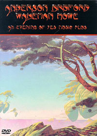 An Evening Of Yes Music Plus (DVD) by ANDERSON BRUFORD WAKEMAN  HOWE album cover