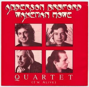 Quartet (I'm Alive) by ANDERSON BRUFORD WAKEMAN  HOWE album cover