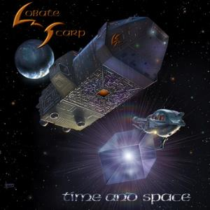Lobate Scarp - Time and Space CD (album) cover