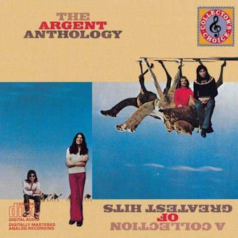 Argent - The Argent Anthology: A Collection Of Greatest Hits CD (album) cover