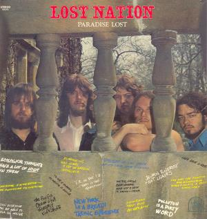 Lost Nation Paradise Lost album cover
