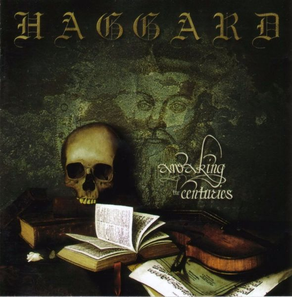 Haggard - Awaking the Centuries CD (album) cover