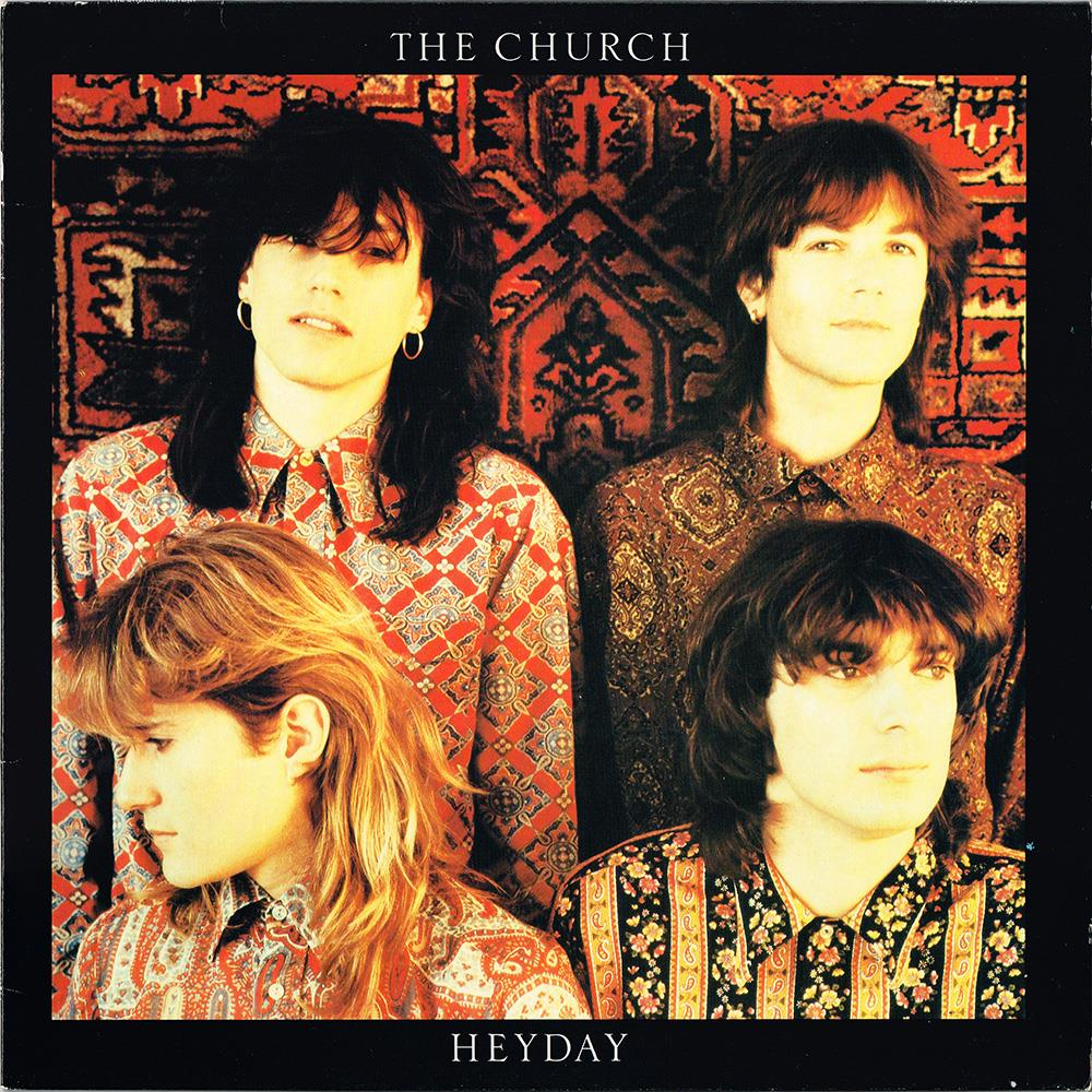 The Church - Heyday CD (album) cover