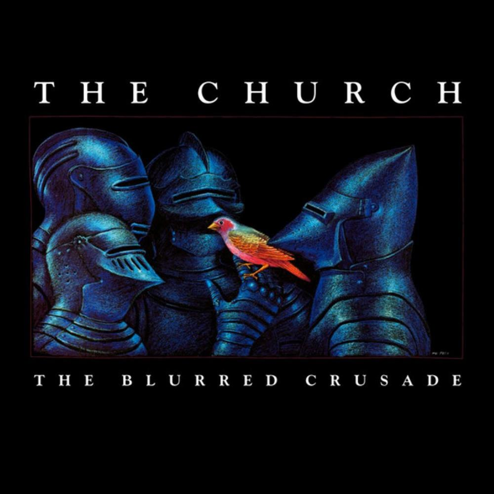 The Church The Blurred Crusade album cover