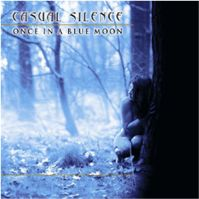 Casual Silence Once in a Blue Moon album cover