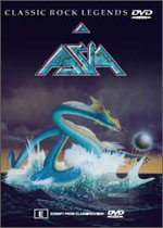 Asia - Classic Rock Legends (DVD) CD (album) cover