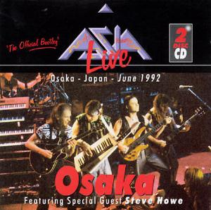 Asia Asia Live In Osaka album cover